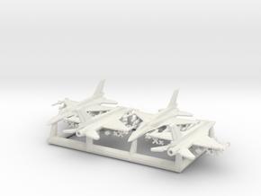 "F-16D ""Barak"" & I ""Sufa"" w/Gear (MD) in White Natural Versatile Plastic: 6mm"