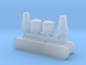 LH Wiener Linien Scheinwerfer und Zielschild in Smooth Fine Detail Plastic