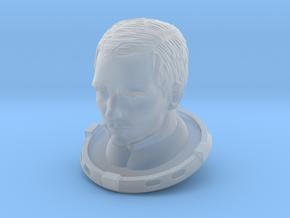 SF Astronaut, HEAD / Cockpit Moebius EVA Pod in Smoothest Fine Detail Plastic