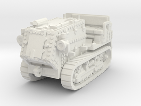 Holt 5T Tractor 1/72 in White Natural Versatile Plastic