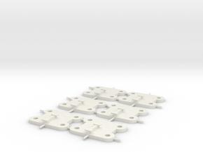 CBases in White Natural Versatile Plastic