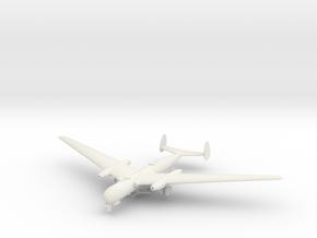 1/144 Messerschmitt P.1075 in White Natural Versatile Plastic