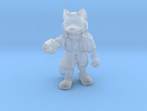 Starfox Fox McCloud 1/60 miniature for games & rpg in Smooth Fine Detail Plastic