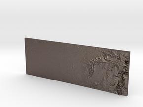 Auburn Ravine in Polished Bronzed-Silver Steel
