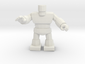 Dragon Quest Golem 1/60 miniature for games andRPG in White Natural Versatile Plastic