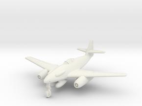 (1:144) Messerschmitt Me 262 A-5 in White Natural Versatile Plastic