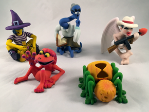 2 Inch Monsters: Batch 16 in Natural Full Color Sandstone