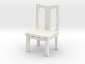 Printle Thing Chair 09 - 1/24 in White Natural Versatile Plastic