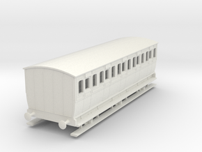0-97-mgwr-6w-3rd-class-coach in White Natural Versatile Plastic