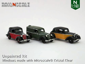 SET 3x DKW F7 (N 1:160) in Frosted Ultra Detail