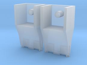 TF WFC Siege - Ironhide Liquid Nitrogen Blasters in Smooth Fine Detail Plastic