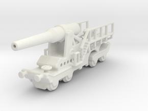 canon de 274mm sur affut truc mle 1/160  in White Natural Versatile Plastic