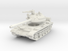 T55 A Tank 1/120 in White Natural Versatile Plastic