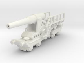 canon de 274 sur affut truc mle 1/200 in White Natural Versatile Plastic