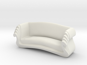 Printle Thing Chair 023 - 1/24 in White Natural Versatile Plastic
