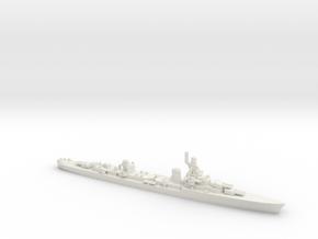 French Cruiser Emile Bertin 1943 in White Natural Versatile Plastic