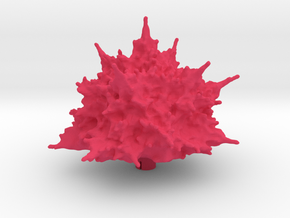 TF:Siege Explosion Effect Part (4cm diameter) in Pink Processed Versatile Plastic