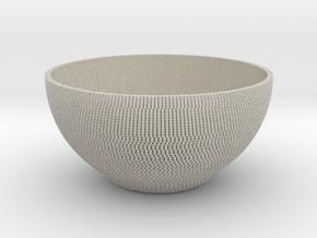 Bowl Pixels in Natural Sandstone