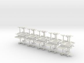 Ork Bombas - Concept A in White Natural Versatile Plastic
