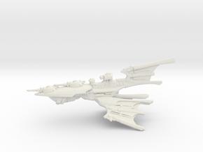 Eldar Cruiser - Concept 1 in White Natural Versatile Plastic