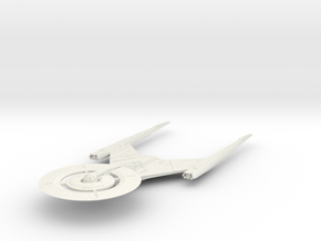 USS Discovery  V3 in White Natural Versatile Plastic