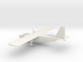 Britten-Norman BN-2 Islander in White Natural Versatile Plastic: 1:100