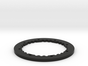 2.6 Beadlock Outer Ring in Black Natural Versatile Plastic