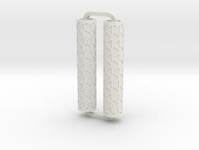 Slimline Pro corrugated ARTG in White Natural Versatile Plastic