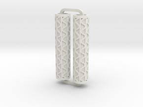 Slimline Pro corrugated lathe in White Natural Versatile Plastic