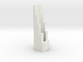 Slimline Pro dual material lathe (1) in White Natural Versatile Plastic