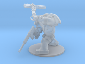 CYBORG1 FORCE-AXE AND PISTOL in Smooth Fine Detail Plastic