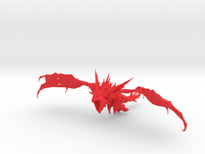 Pendragon the Dragon in Red Processed Versatile Plastic