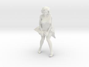 Printle V Femme 413 - 1/12 - wob in White Natural Versatile Plastic