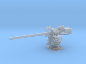 1/30 Uboot 8.8 cm SK C/35 Naval Gun in Smooth Fine Detail Plastic