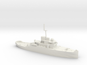 1/350 Scale Acushnet WMEC-167 Early Configuration in White Natural Versatile Plastic