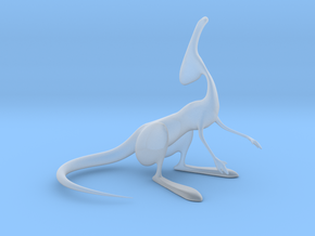 Parasaur Model in Smooth Fine Detail Plastic
