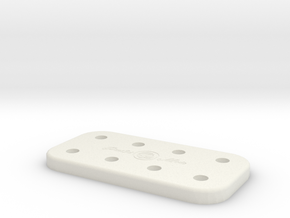 ATTY CADDY [8SPOT] in White Natural Versatile Plastic