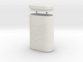 JUICE BOX in White Natural Versatile Plastic