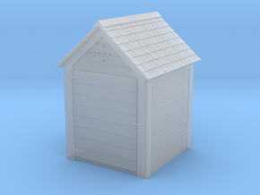 HO Great Northern 4' x 4' Hose House in Smooth Fine Detail Plastic