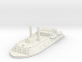 1/600 City Class gunboat  in White Natural Versatile Plastic