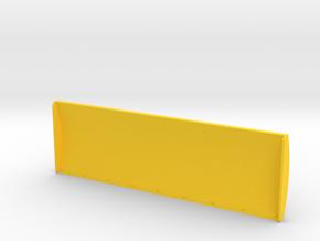 1/87 Schiebeschild K-700A 5m in Yellow Processed Versatile Plastic: 1:87 - HO