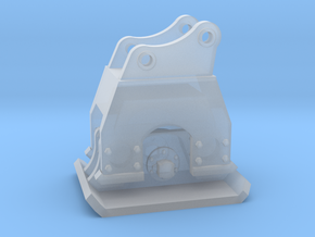 1:50 Plate Compactor for 20ton excavators  in Smooth Fine Detail Plastic