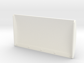 1/87 Schiebeschild K-700A 3m in White Processed Versatile Plastic: 1:87 - HO