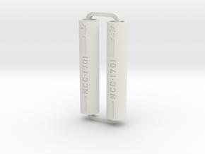 Slimline Pro NCC1701 ARTG in White Natural Versatile Plastic