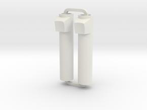 Slimline Pro keyboard ARTG in White Natural Versatile Plastic