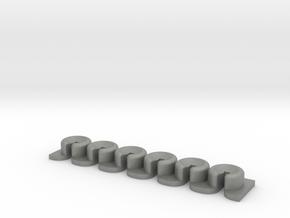 Pinless Device - Bridge underpin brace in Gray PA12