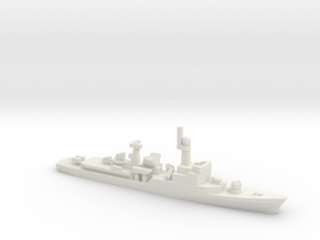 Descubierta-class corvette, 1/2400 in White Natural Versatile Plastic