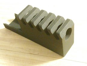 Frame Mounted Airsoft Compensator for G19 in Black Natural Versatile Plastic