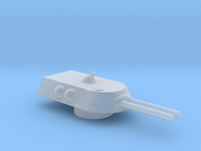 Behemoth Mk1 S-Hvy Grav Multi-Role AFV Turret 15mm in Smooth Fine Detail Plastic