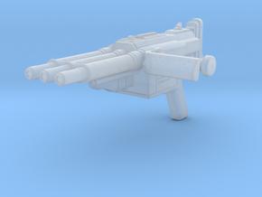 1:6 miniature Duke Nukem Forever Ripper Gun (DNF) in Smooth Fine Detail Plastic